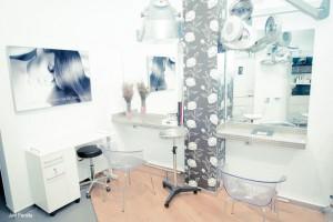 Claro peluquería instalaciones